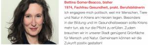 Bettina Gomer-Beacco (bisher)