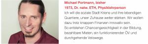 Michael Portmann-Orlowski (bisher)